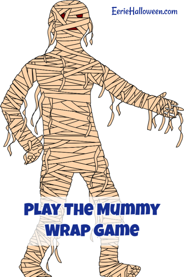 Play The Mummy Wrap Game