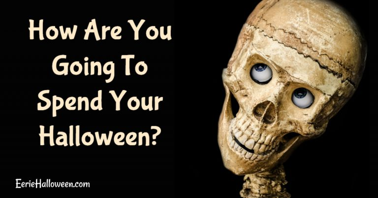 How Are You Going To Spend Your Halloween?