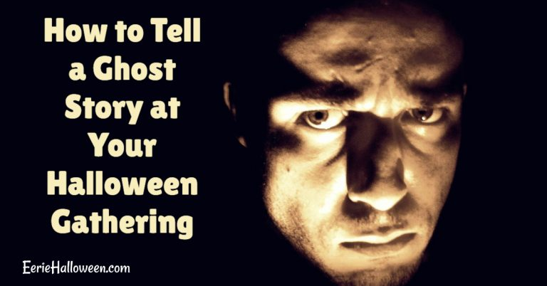 How to Tell a Ghost Story at Your Halloween Gathering