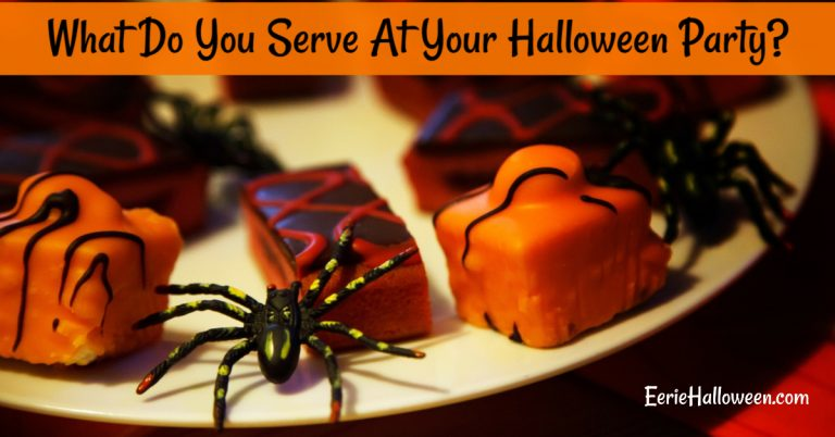 What Do You Serve At Your Halloween Party?